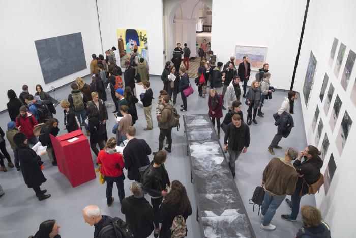 Ausstellungsansicht_Meisterschülerinnenausstellung 2016 - Jana Slaby