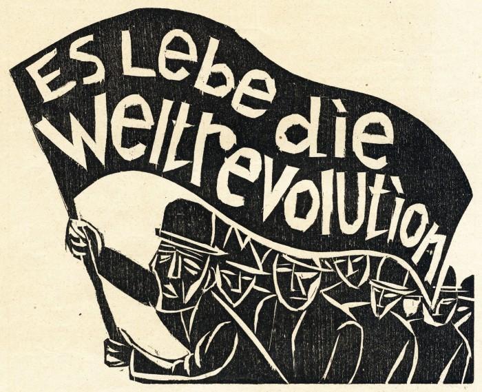 Conrad Felixmüller, Aufruf, 1920