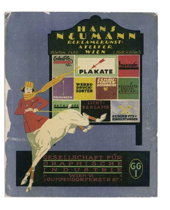 Anzeige Hans Neumann Wien, aus Reklame, Januar 1919, Quelle Collection ReclameArsenaal, www.ReclameArsenaal.nl_print