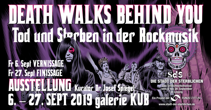 1. Death Walks behind you. SEPT. groß