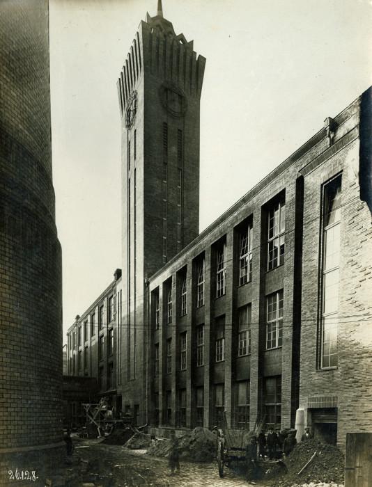 Neues aus Beton und Stahl_Chemnitz, Uhr- und Fahrstuhlturm, 1928_(c) SGM